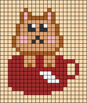 Alpha pattern #57595