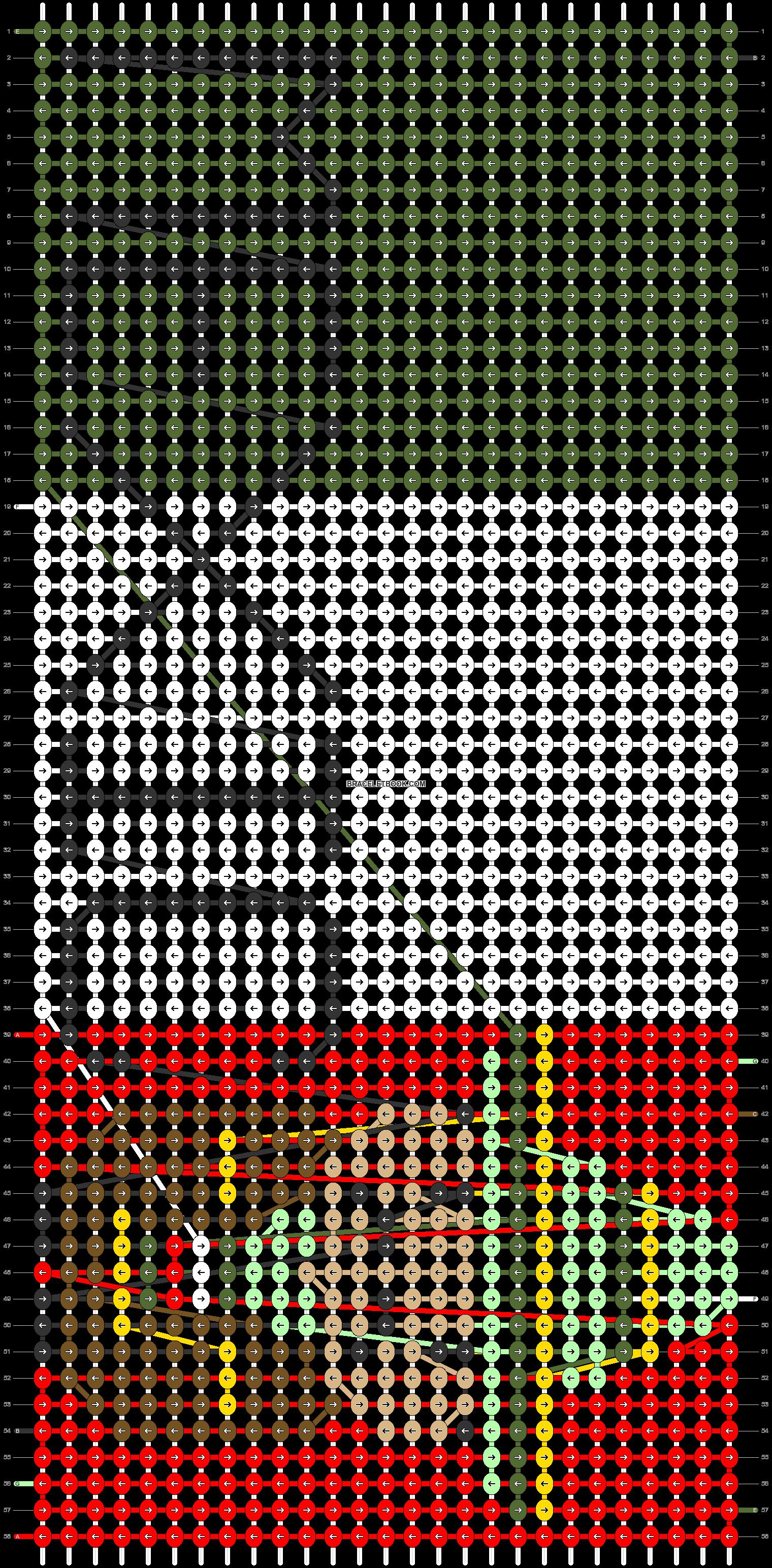 Alpha pattern #57606 pattern