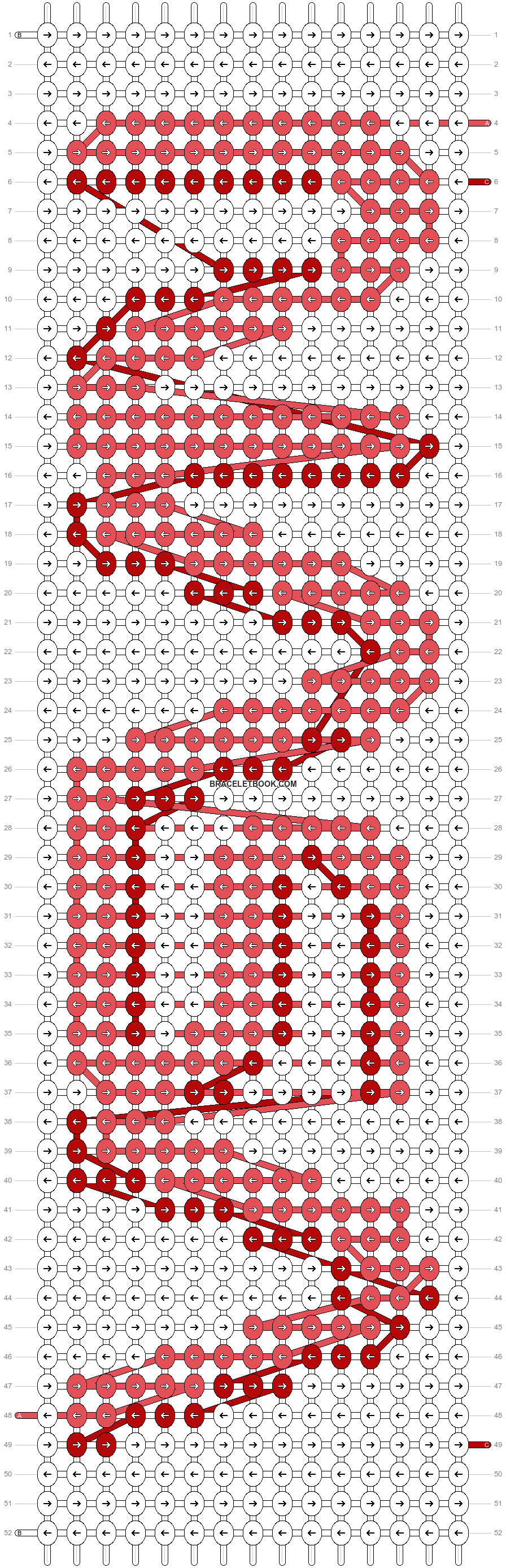 Alpha pattern #57624 pattern