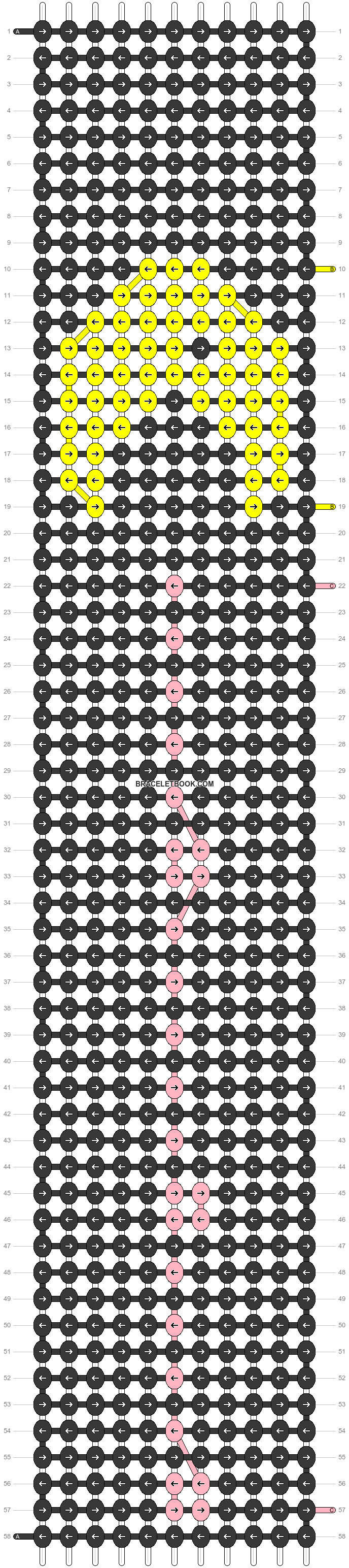 Alpha pattern #57628 pattern