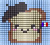 Alpha pattern #57681