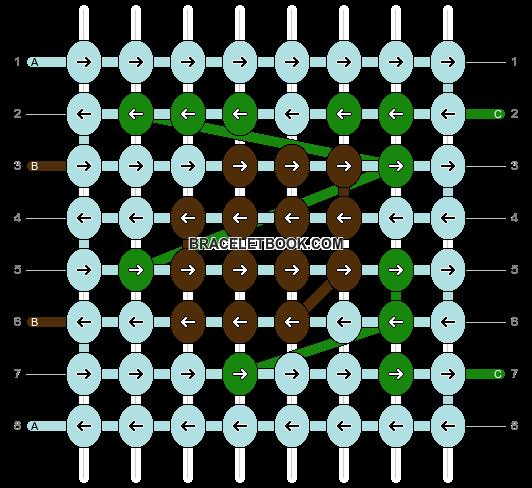 Alpha pattern #57682 pattern
