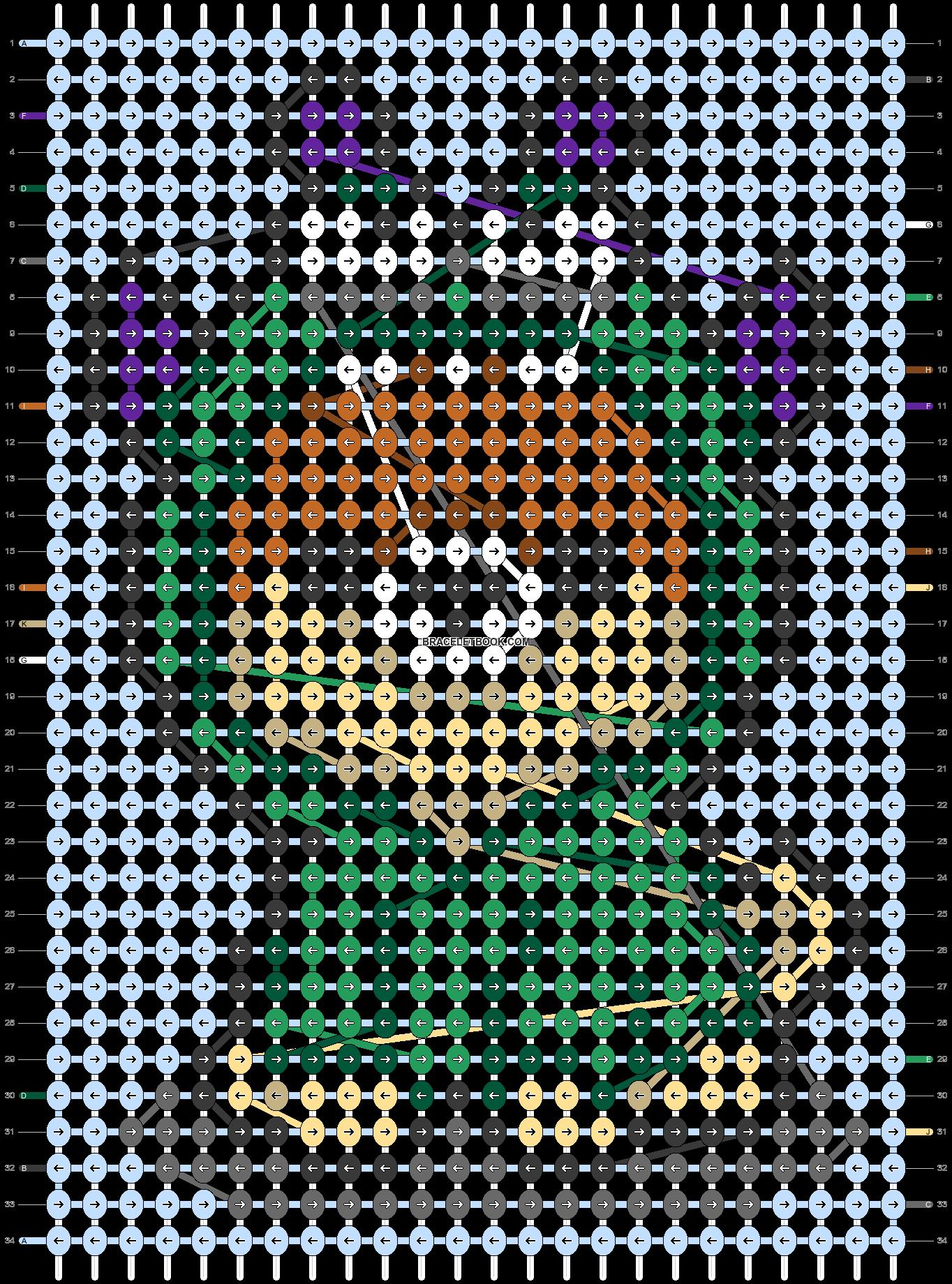 Alpha pattern #57693 pattern