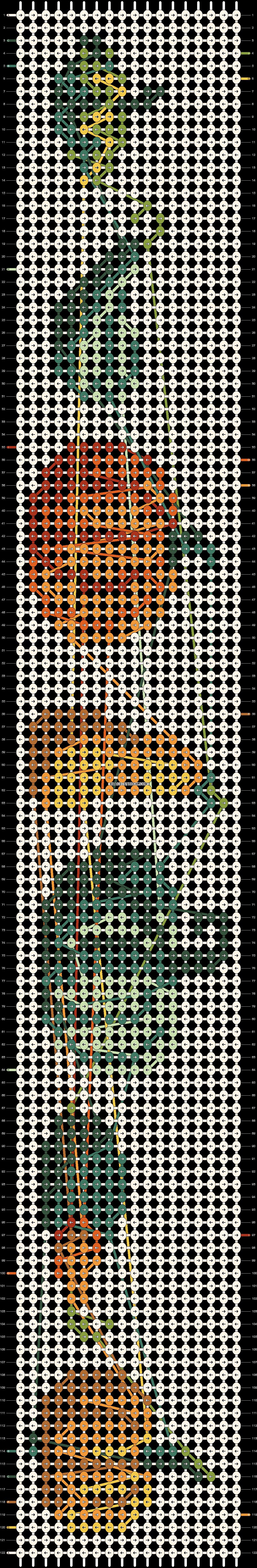 Alpha pattern #57706 pattern