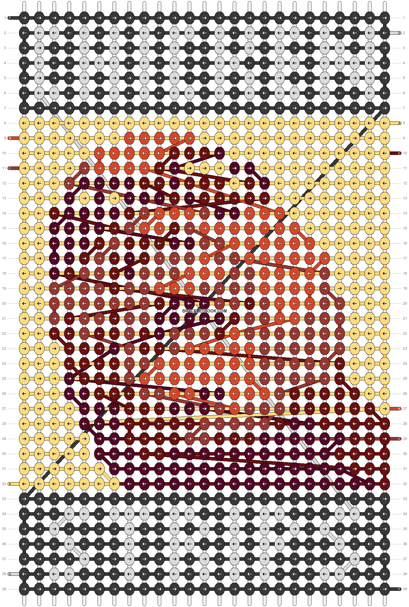 Alpha pattern #57712 pattern
