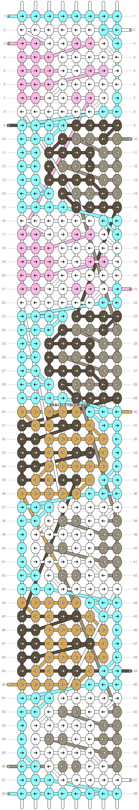 Alpha pattern #57722 pattern