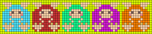 Alpha pattern #57725