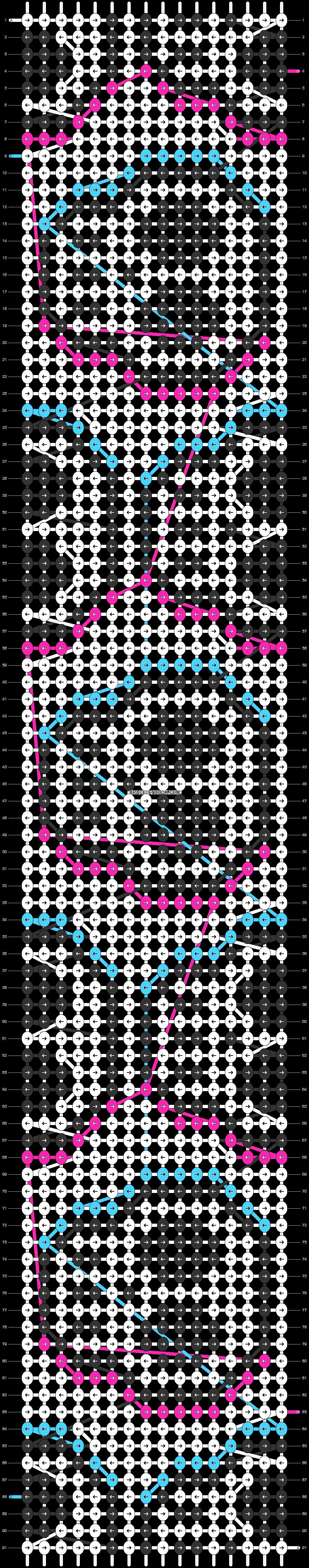 Alpha pattern #57783 pattern