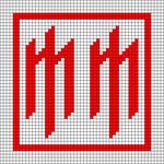 Alpha pattern #57796