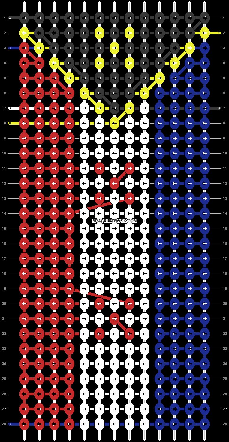 Alpha pattern #57804 pattern