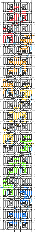 Alpha pattern #57843 pattern