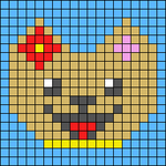 Alpha pattern #57845