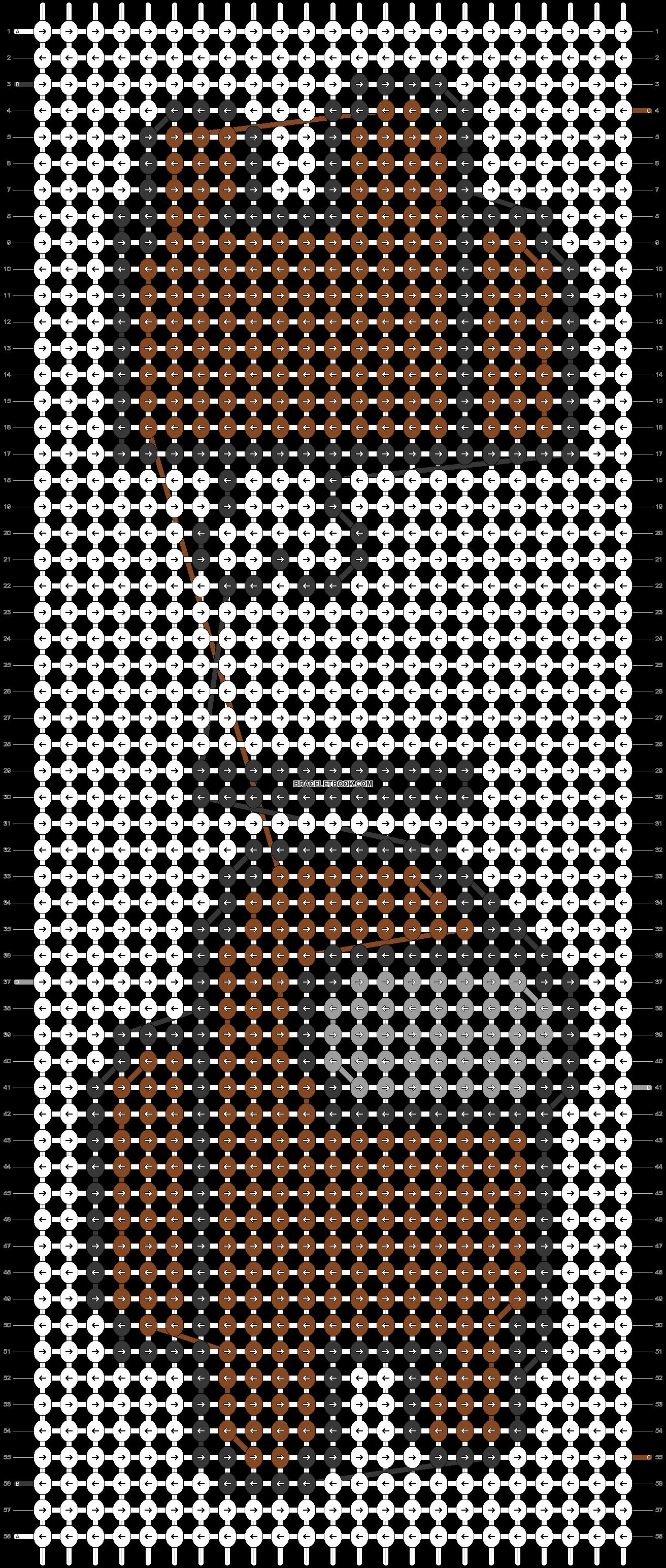 Alpha pattern #57852 pattern
