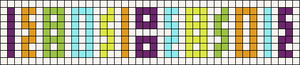 Alpha pattern #57858