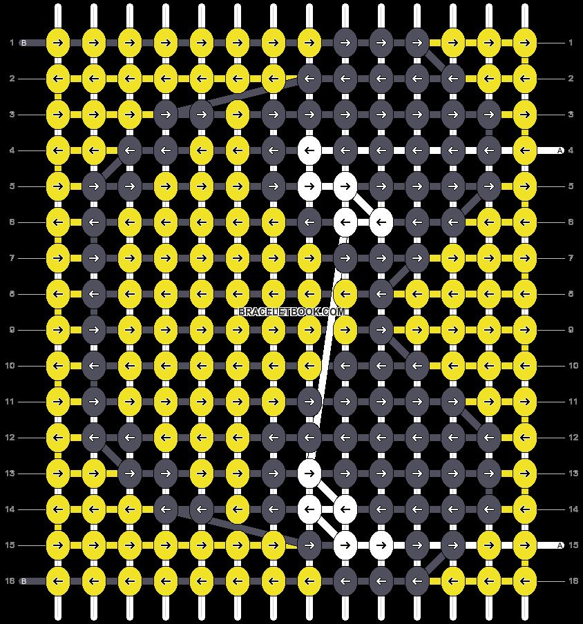 Alpha pattern #57860 pattern