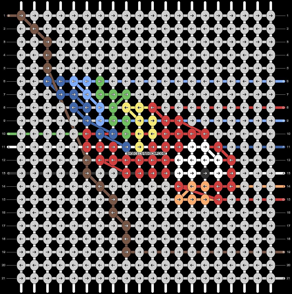 Alpha pattern #57862 pattern