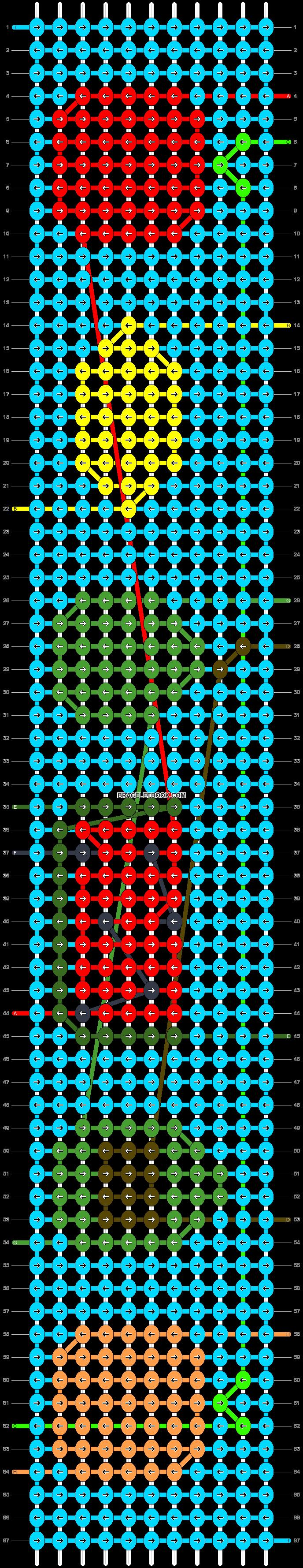 Alpha pattern #57871 pattern