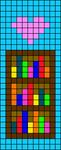 Alpha pattern #57922