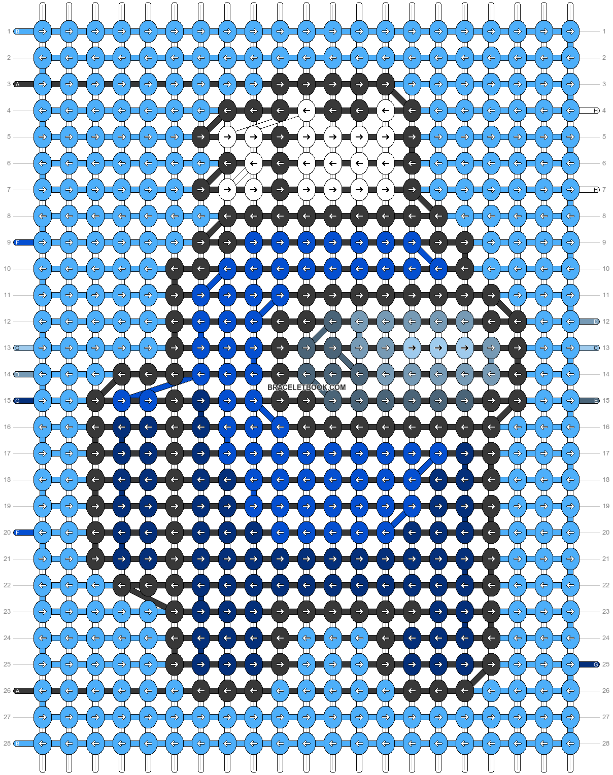 Alpha pattern #57939 pattern