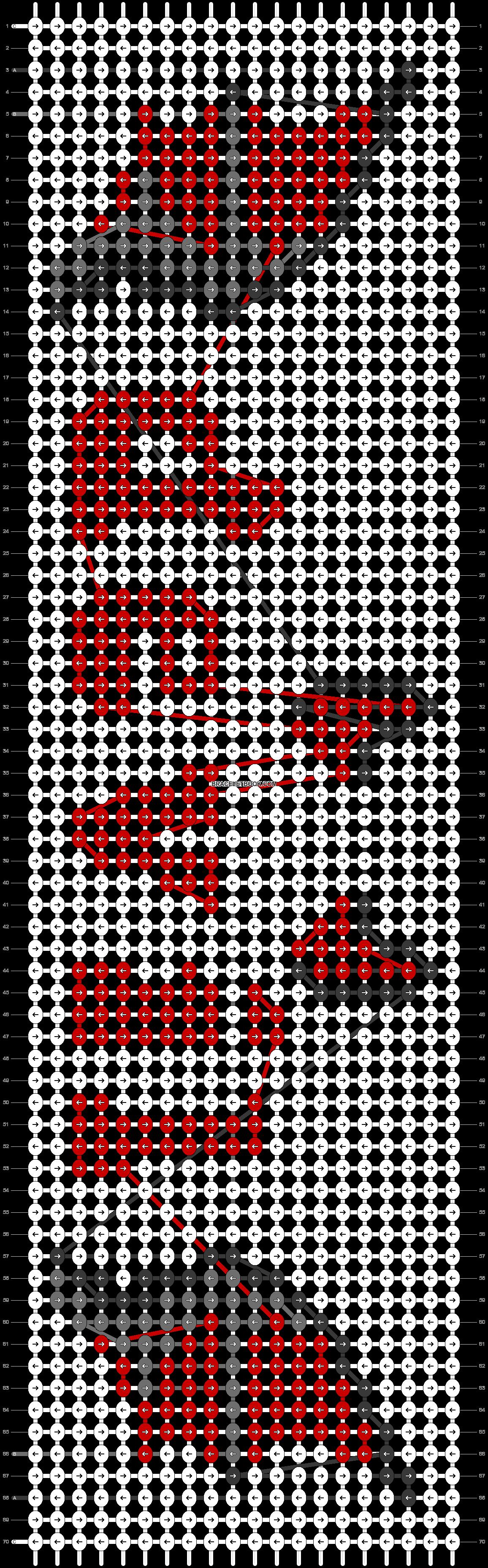Alpha pattern #57958 pattern