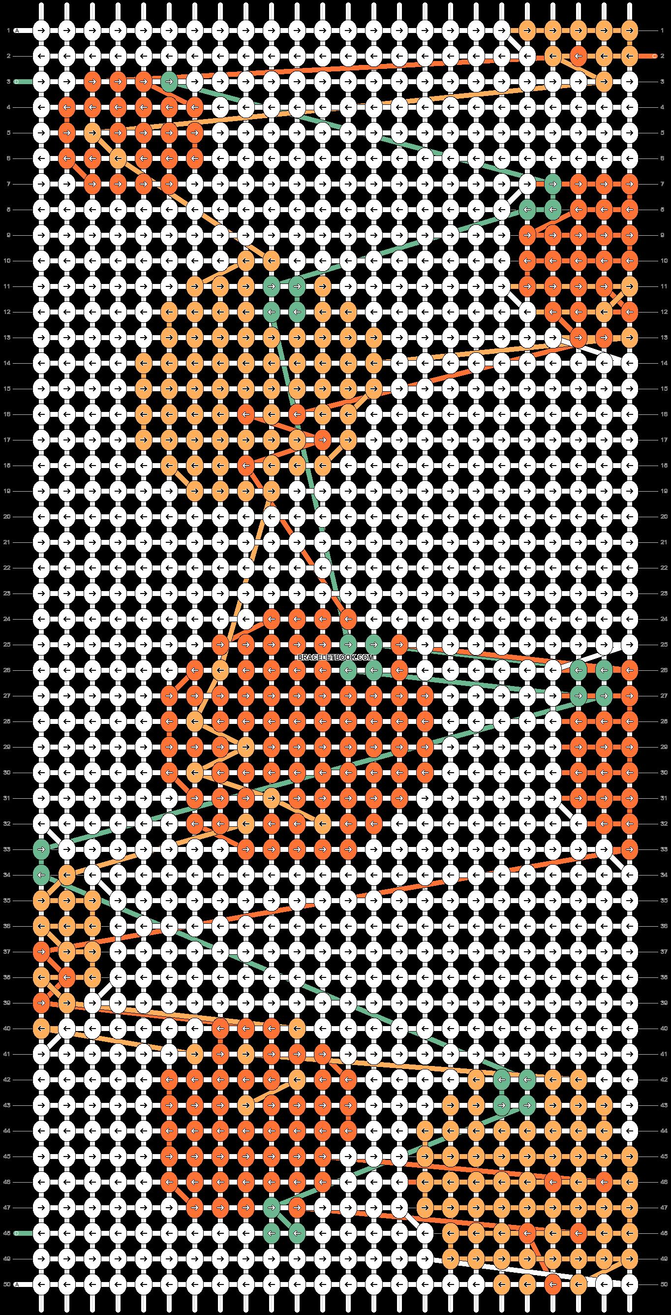 Alpha pattern #57981 pattern