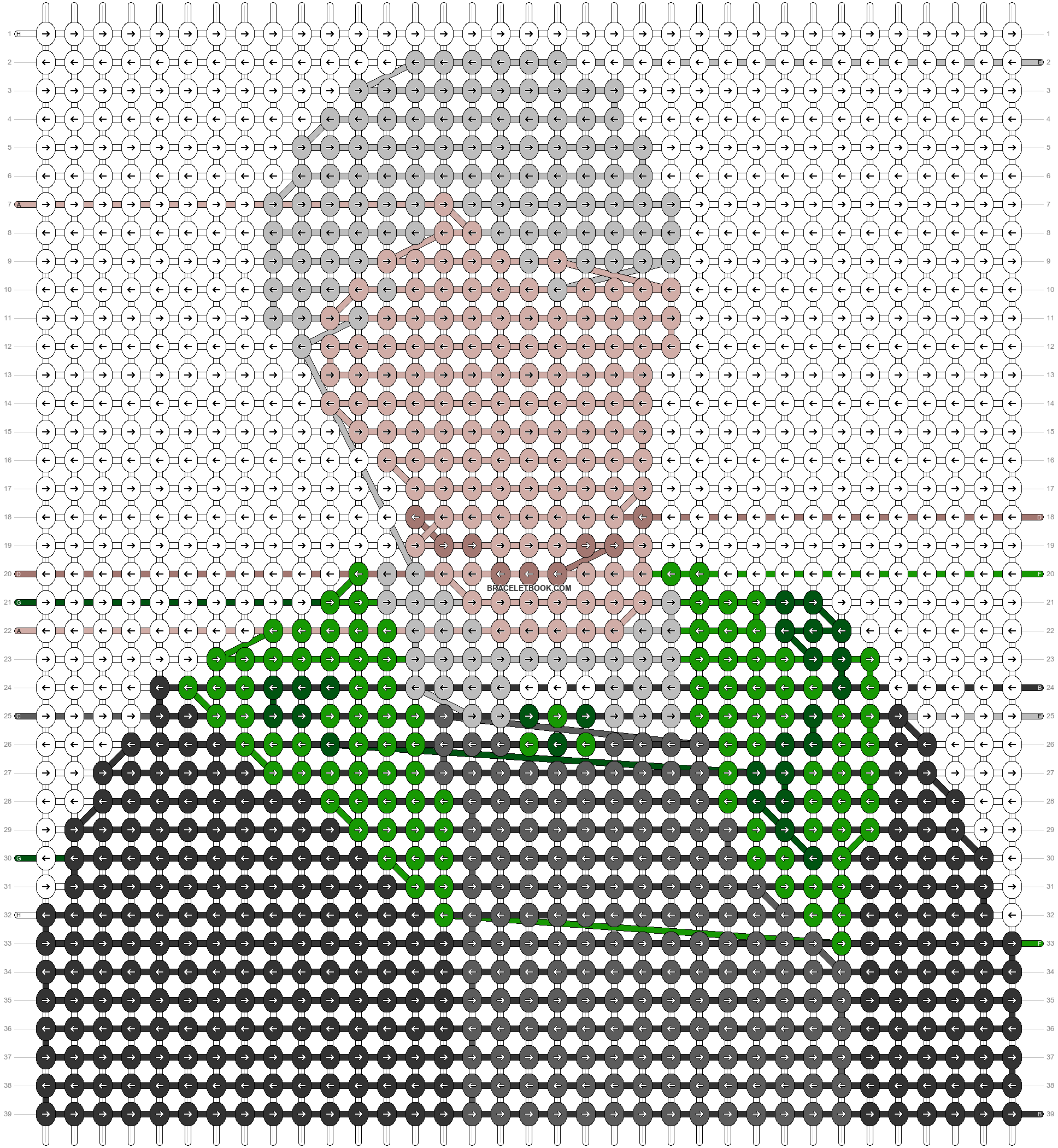 Alpha pattern #57986 pattern