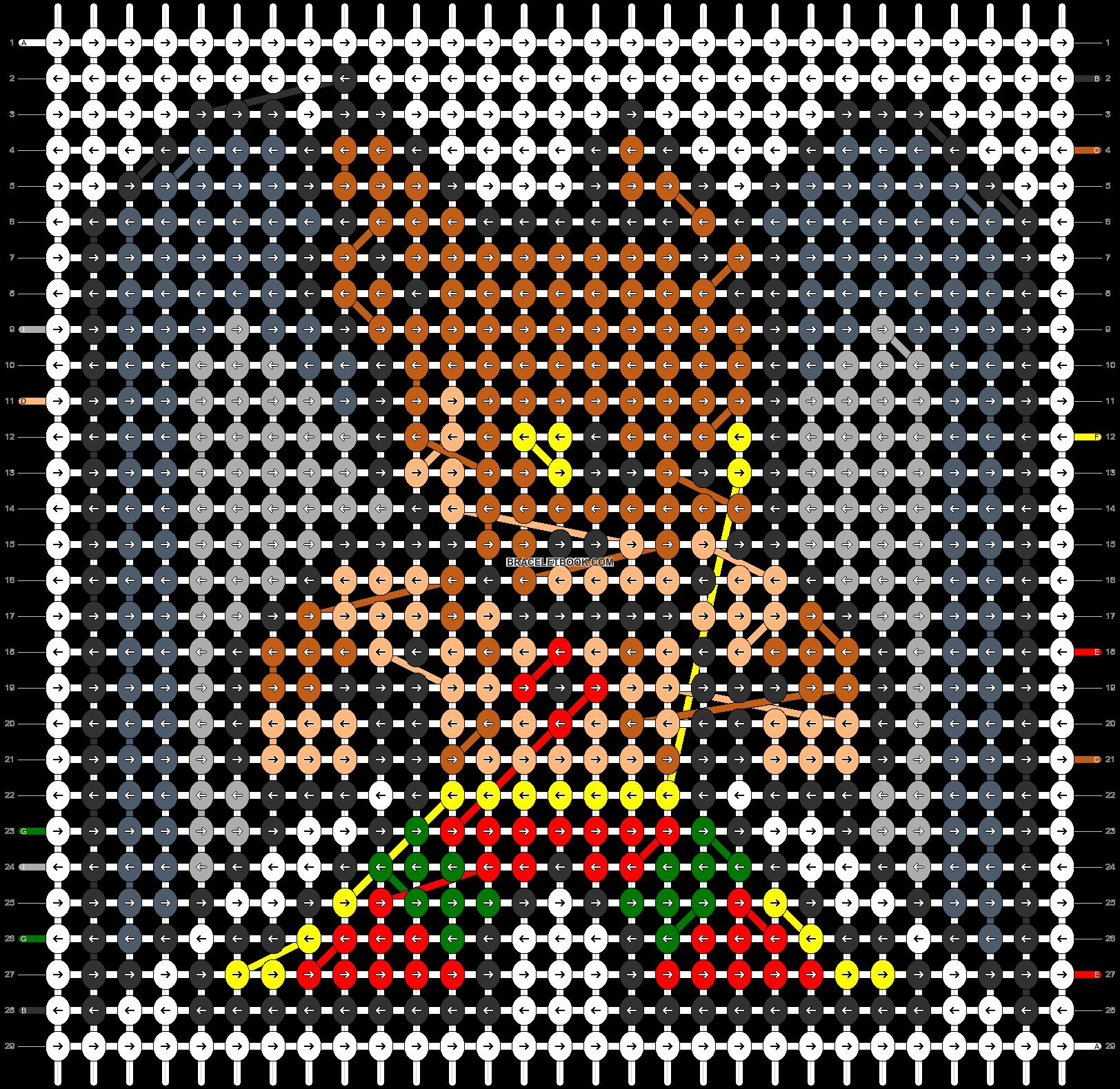 Alpha pattern #57991 pattern