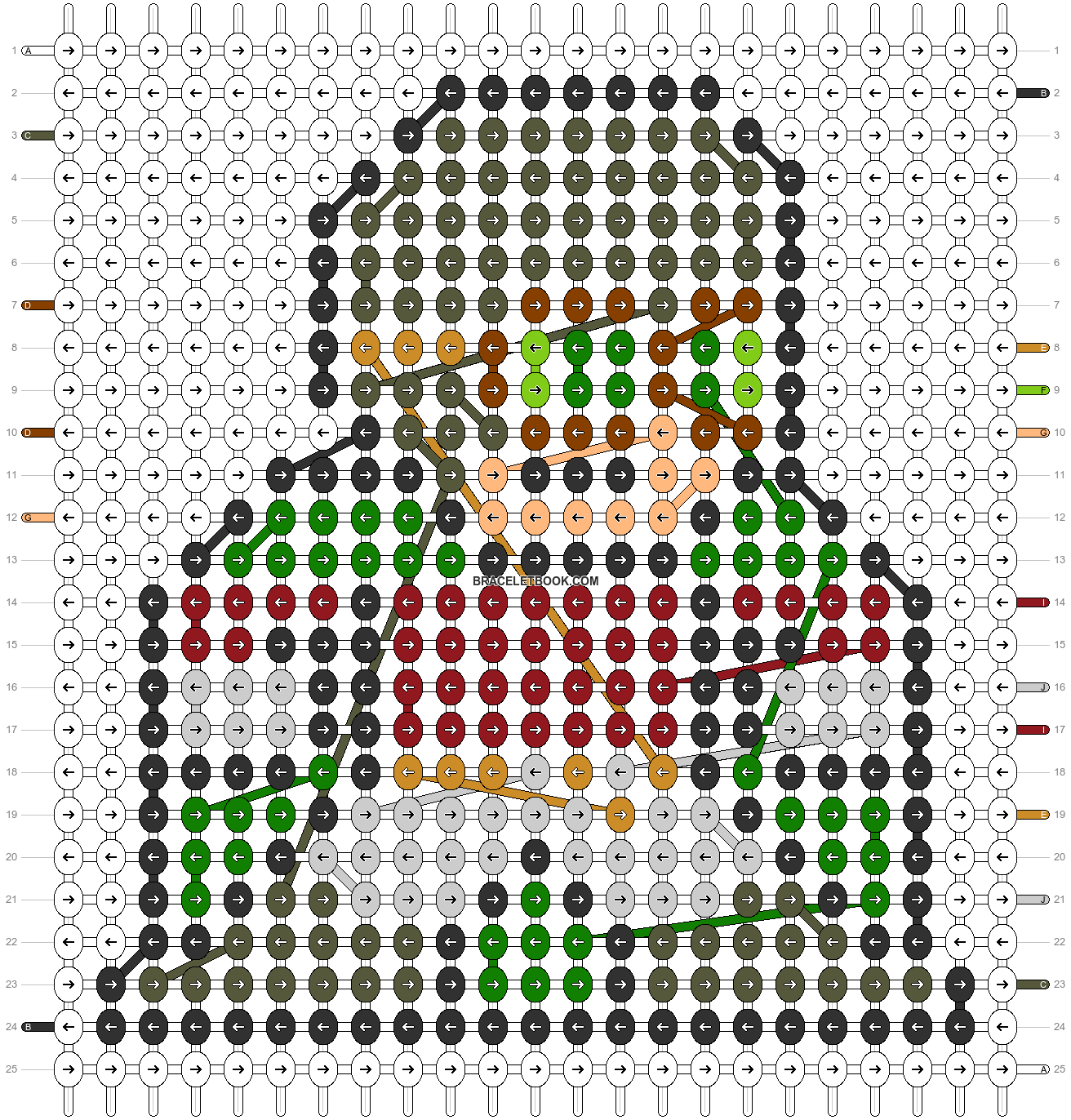 Alpha pattern #57993 pattern