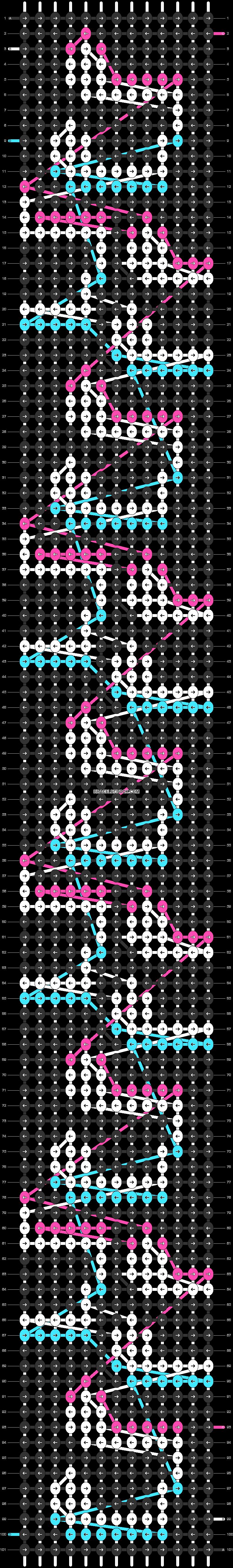 Alpha pattern #58010 pattern