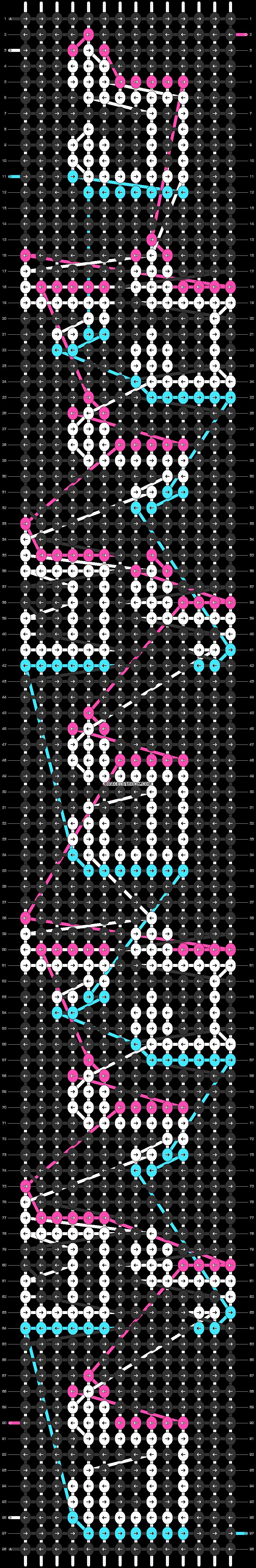 Alpha pattern #58011 pattern