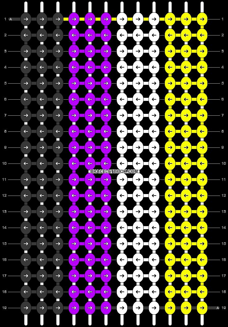 Alpha pattern #58030 pattern