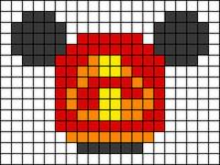 Alpha pattern #58046