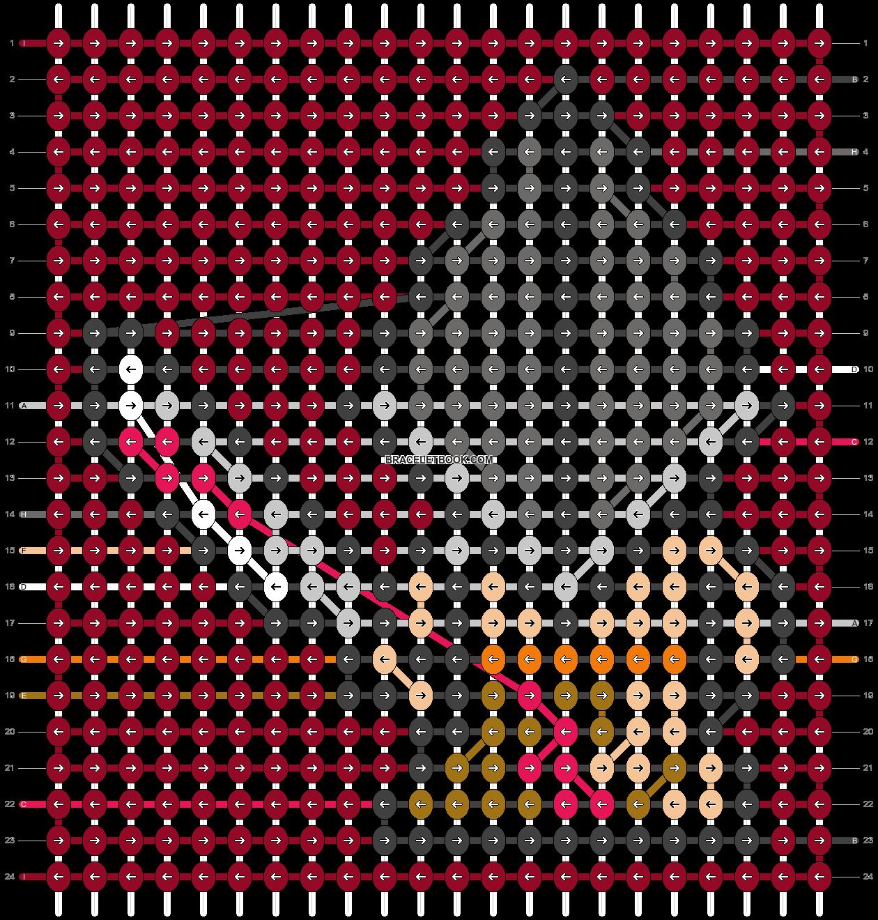 Alpha pattern #58052 pattern