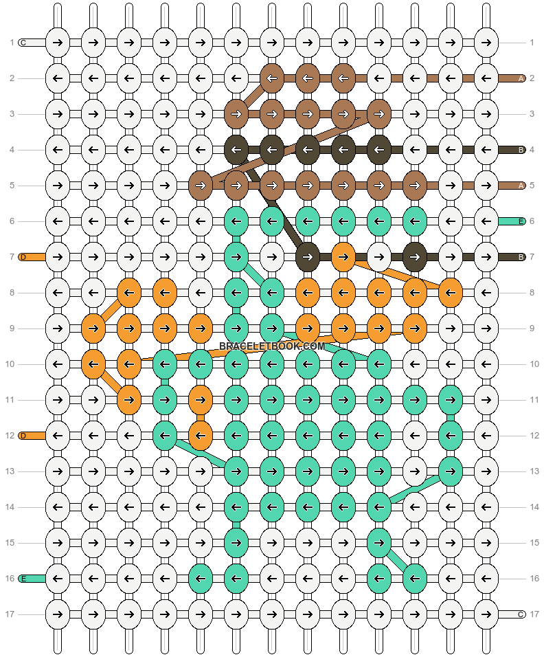 Alpha pattern #58069 pattern