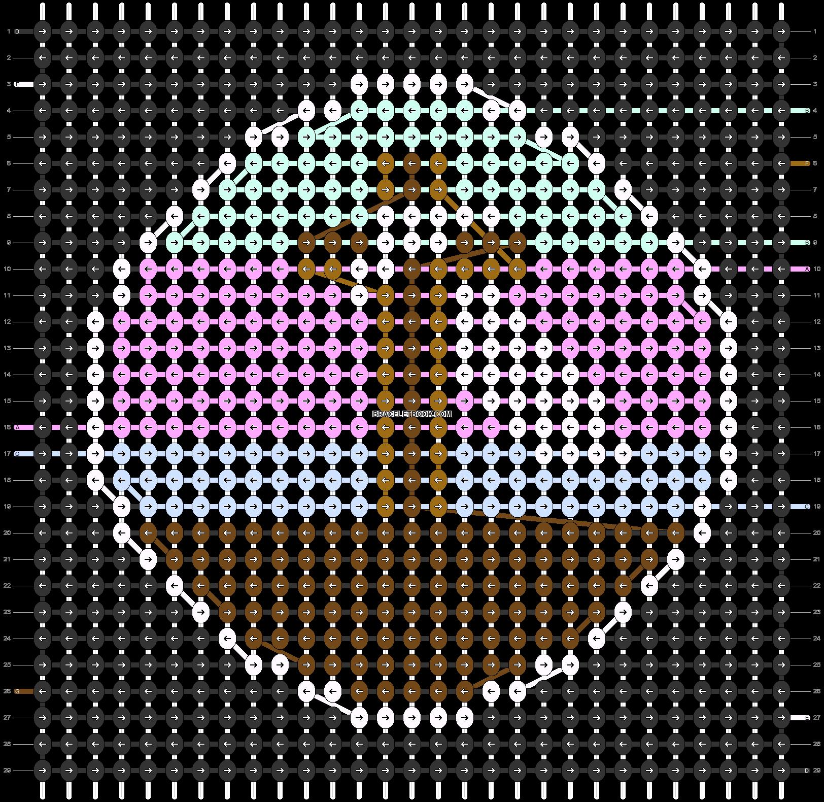 Alpha pattern #58072 pattern