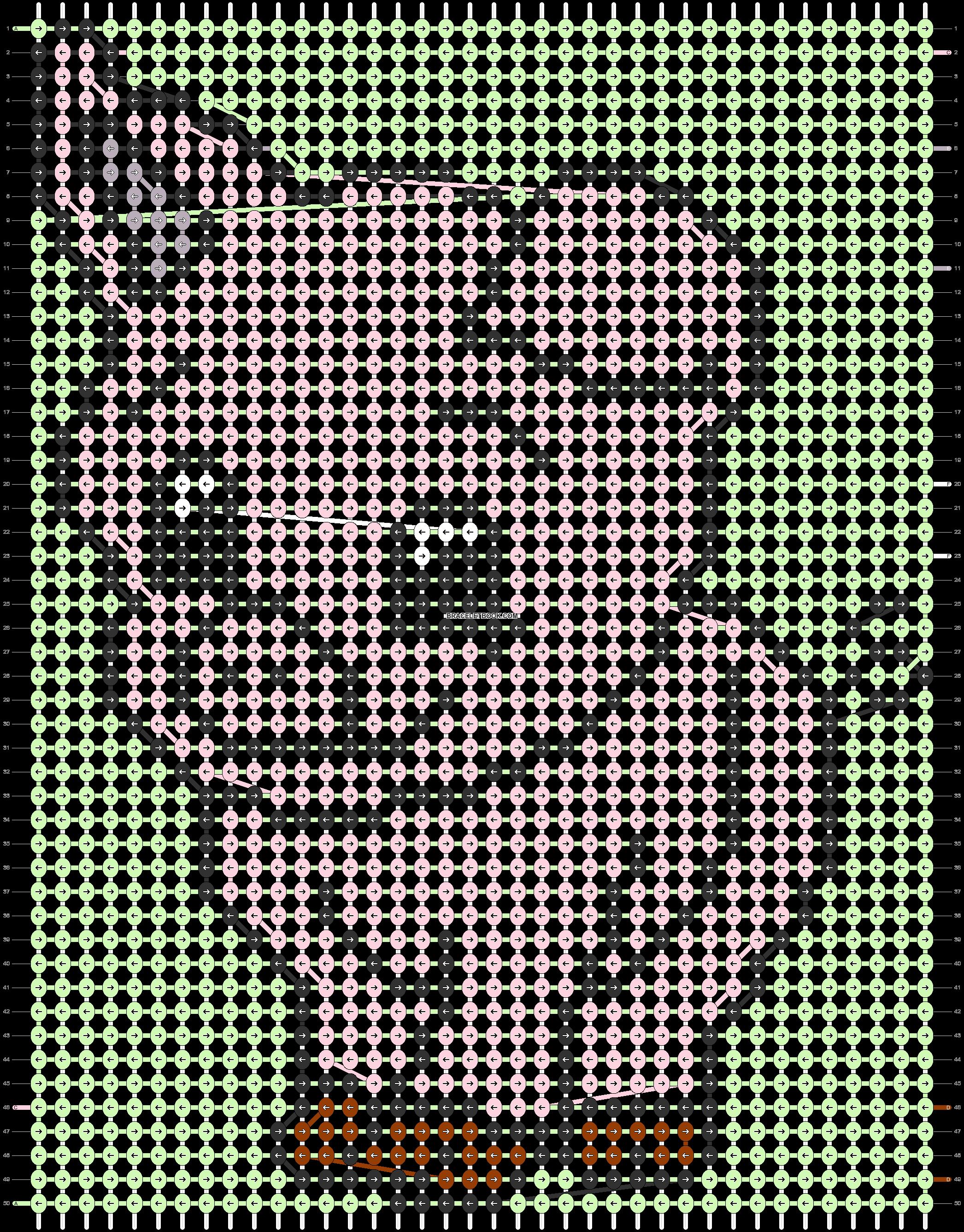 Alpha pattern #58078 pattern
