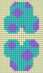 Alpha pattern #58086