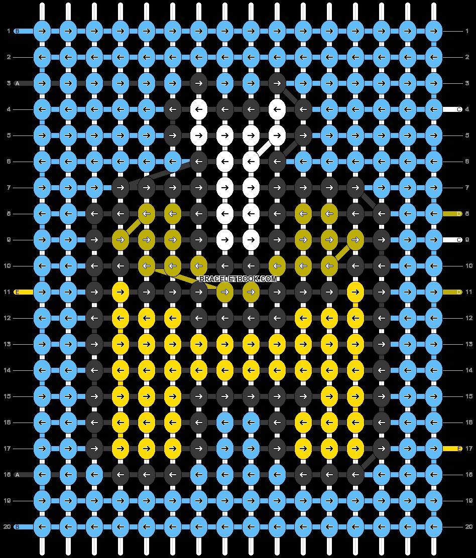 Alpha pattern #58094 pattern