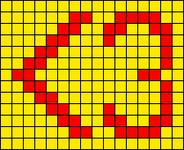 Alpha pattern #58100
