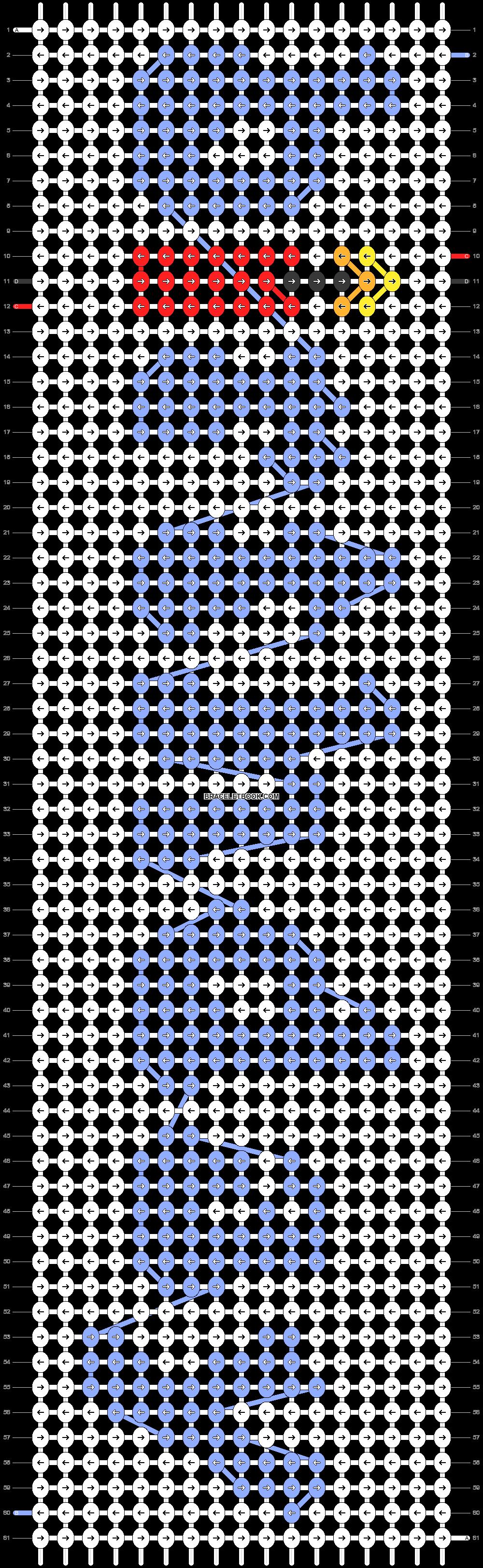 Alpha pattern #58116 pattern