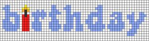 Alpha pattern #58116