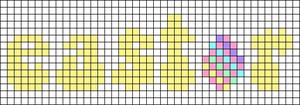 Alpha pattern #58119