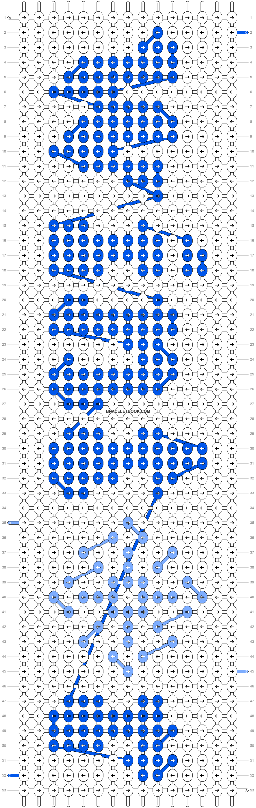Alpha pattern #58128 pattern