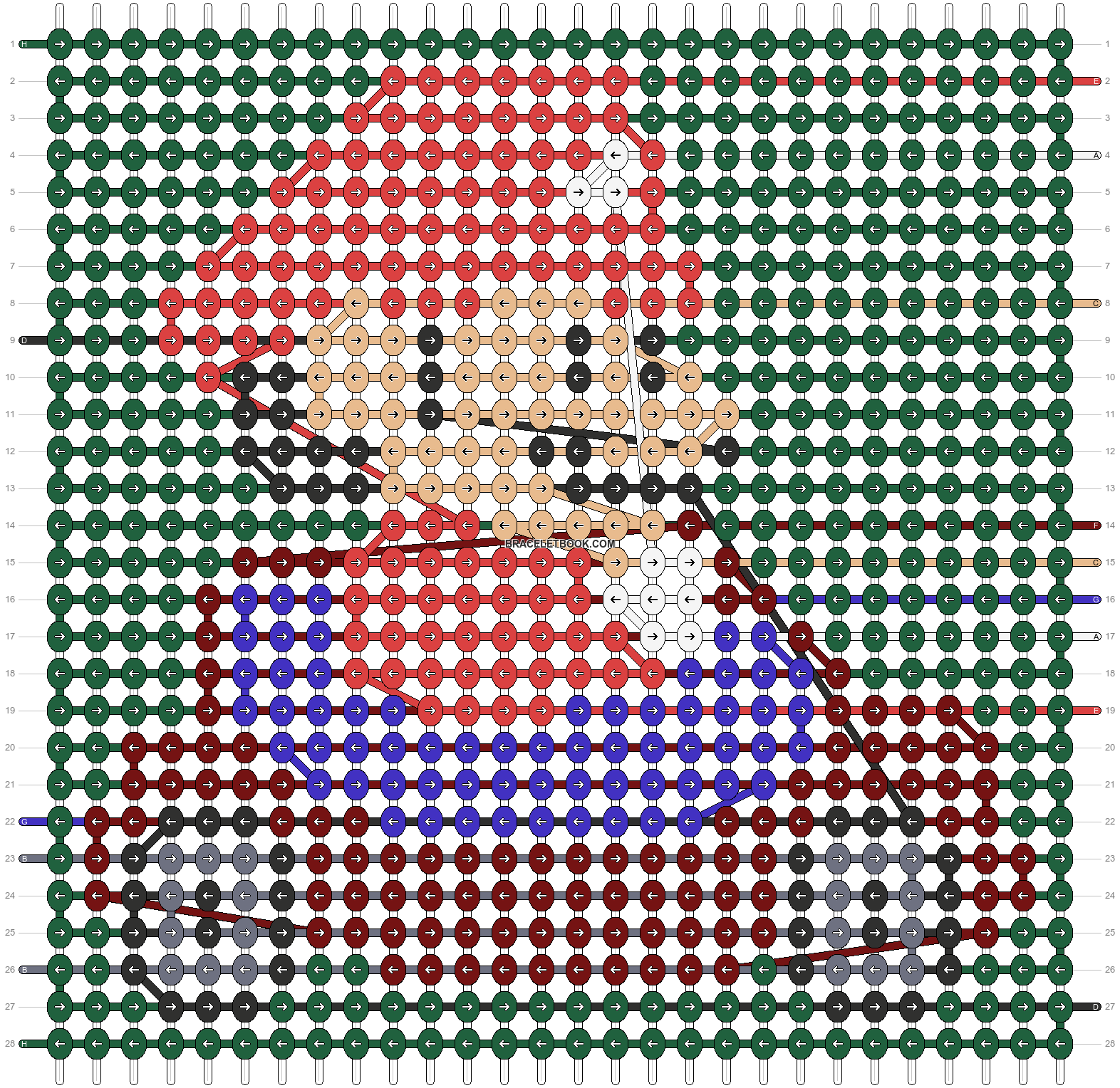 Alpha pattern #58134 pattern