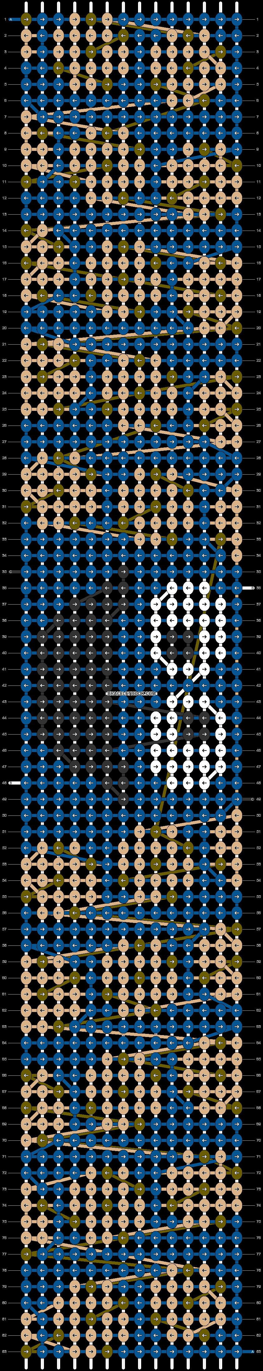 Alpha pattern #58135 pattern
