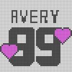 Alpha pattern #58147