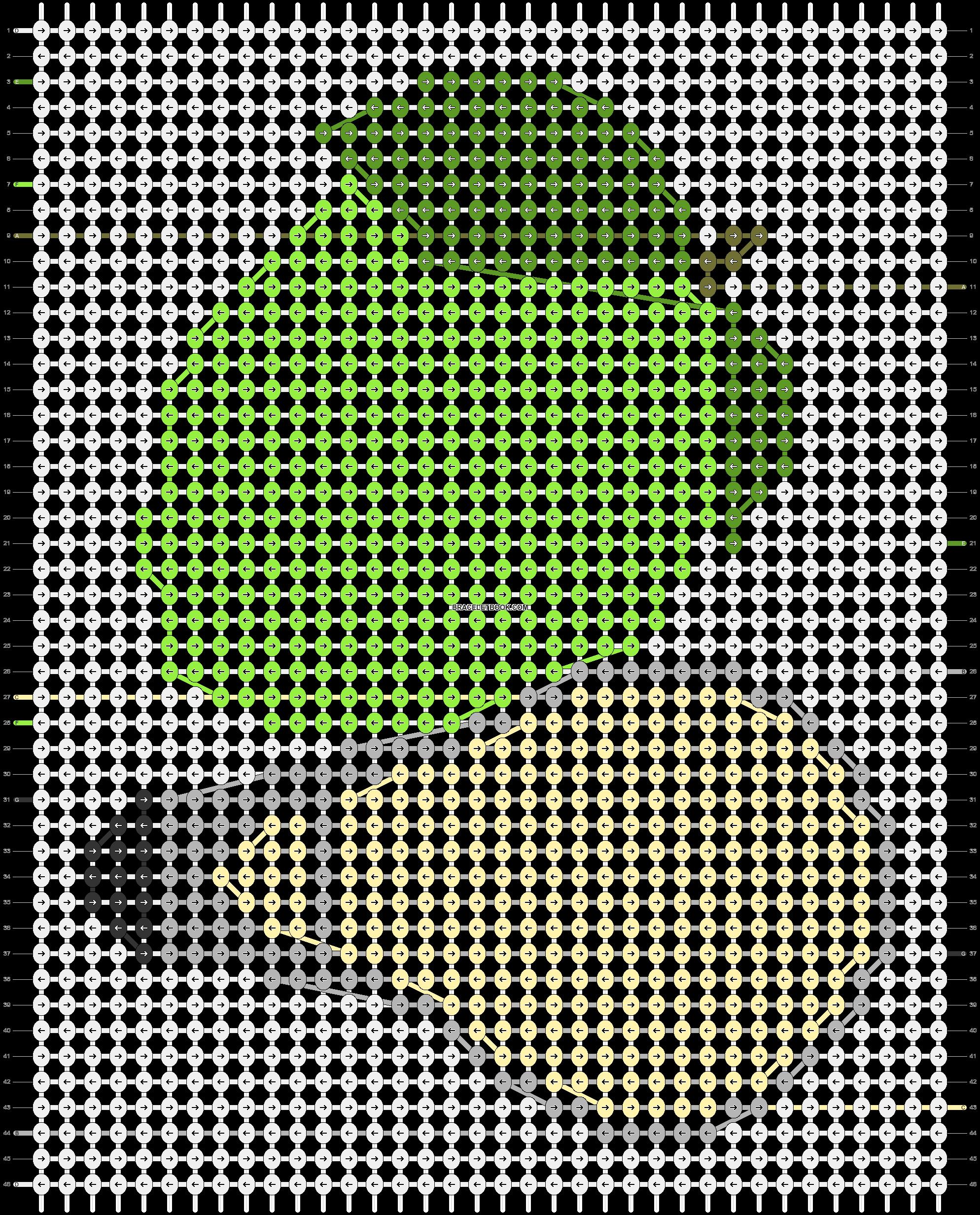 Alpha pattern #58148 pattern
