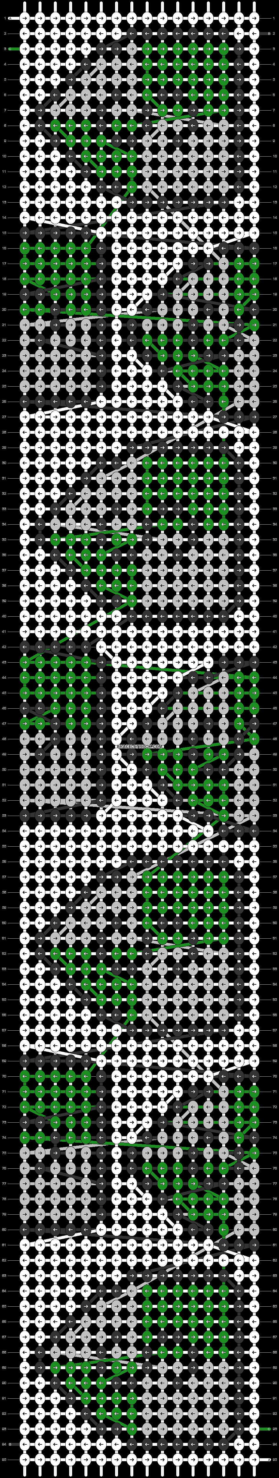 Alpha pattern #58150 pattern