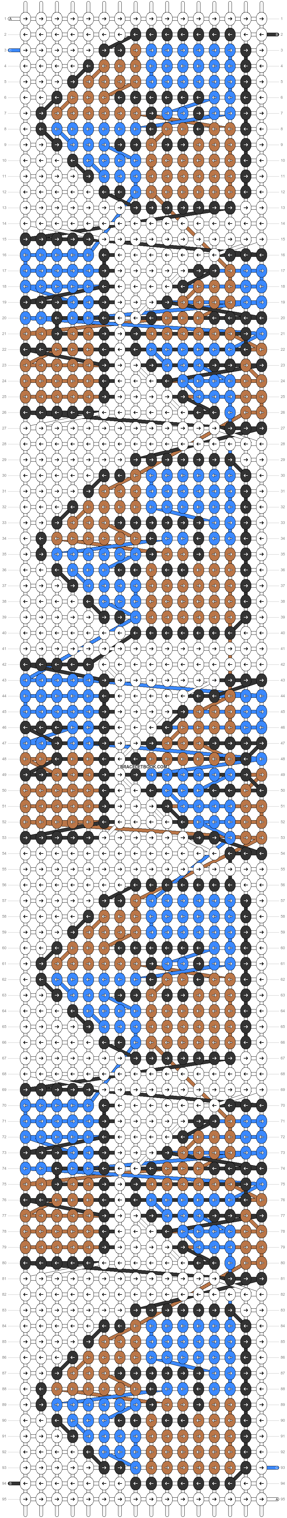 Alpha pattern #58151 pattern