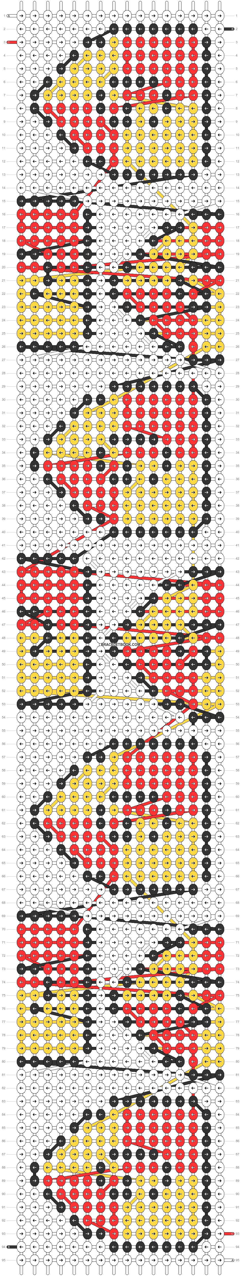 Alpha pattern #58152 pattern
